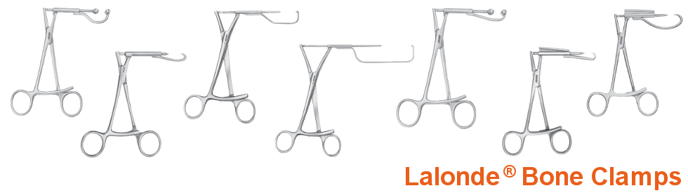 Lalonde Bone Clamps